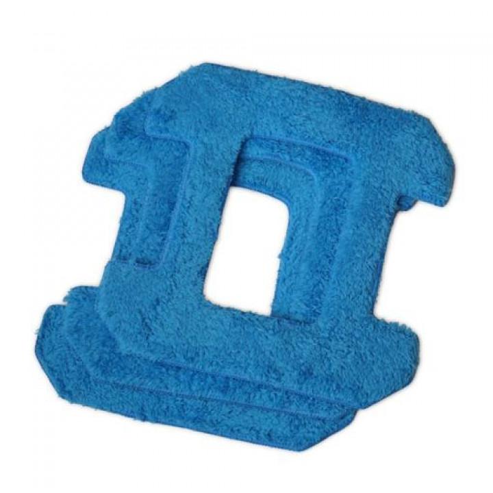 Набор чистящих салфеток из микрофибры для Hobot-268, Hobot-288 (синие)