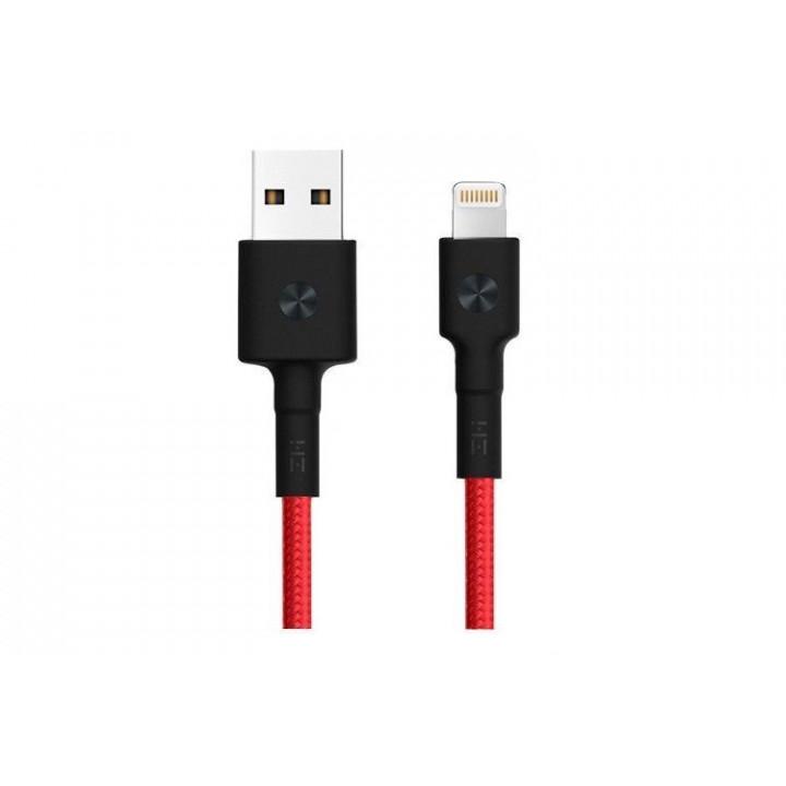 Кабель USB Lightning Xiaomi ZMI MFi 100см (AL803) красный