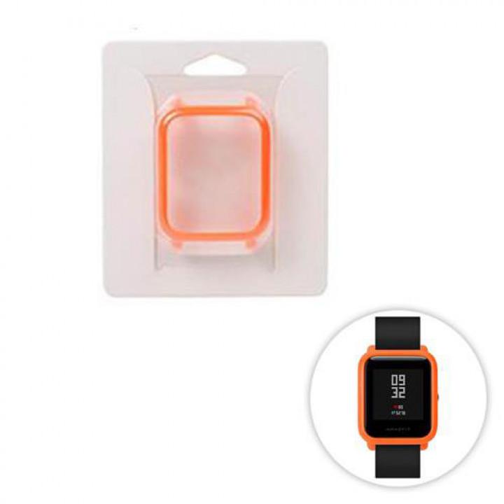Крышка чехол (бампер) для Amazfit Bip оранжевый