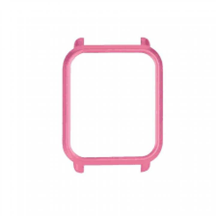 Крышка чехол (бампер) для Amazfit Bip розовая