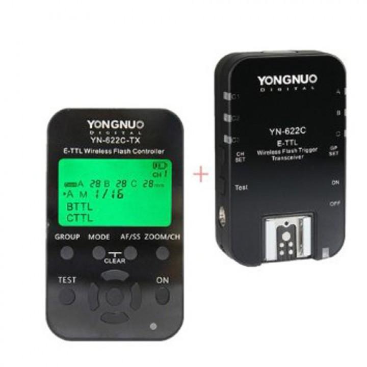 Комплект радиосинхронизации TTL Yongnuo YN-622C +YN-622C-TX для Canon