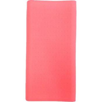 Силиконовый чехол для Xiaomi Power bank 2C (розовый)