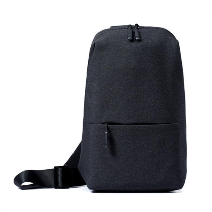 Рюкзак нагрудный Xiaomi Multi-functional Urban Leisure Chest Pack City Sling Bag 10.1-10.5 черный dark gray