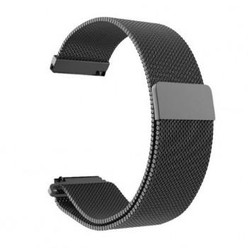 Браслет Milanese Stainless Steel для Amazfit Bip black