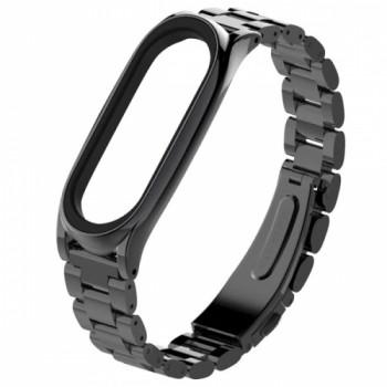 Steel classific Three beads для Xiaomi Mi Band 3/4 black