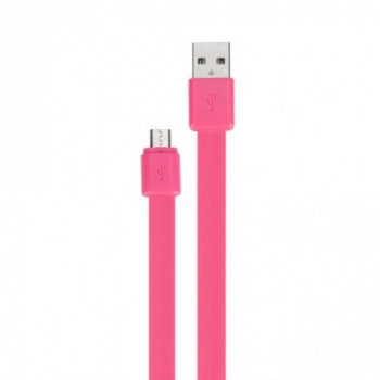 Momax GO Link 100 cm розовый