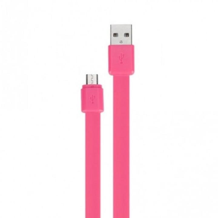 Кабель USB/micro Momax GO Link 1m (DDMICROL) розовый