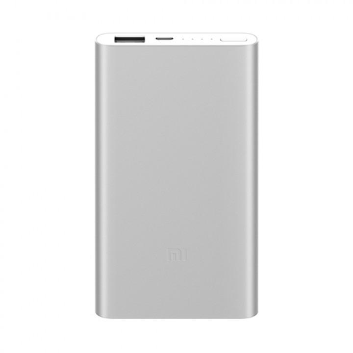 Внешний аккумулятор Xiaomi Mi Power Bank 2 (5000 mAh) серебро