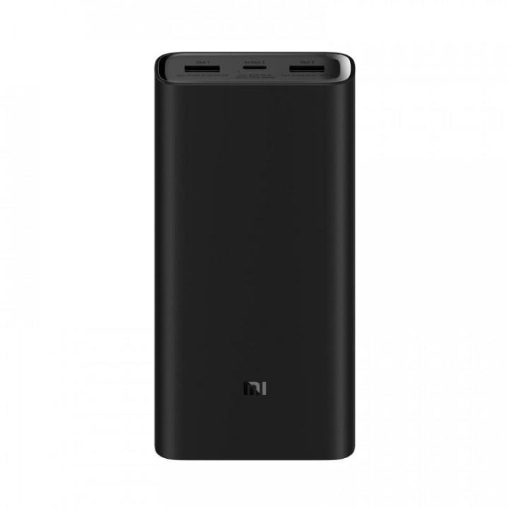 Внешний аккумулятор Xiaomi Mi Power Bank 3 20000 mAh (Черный)