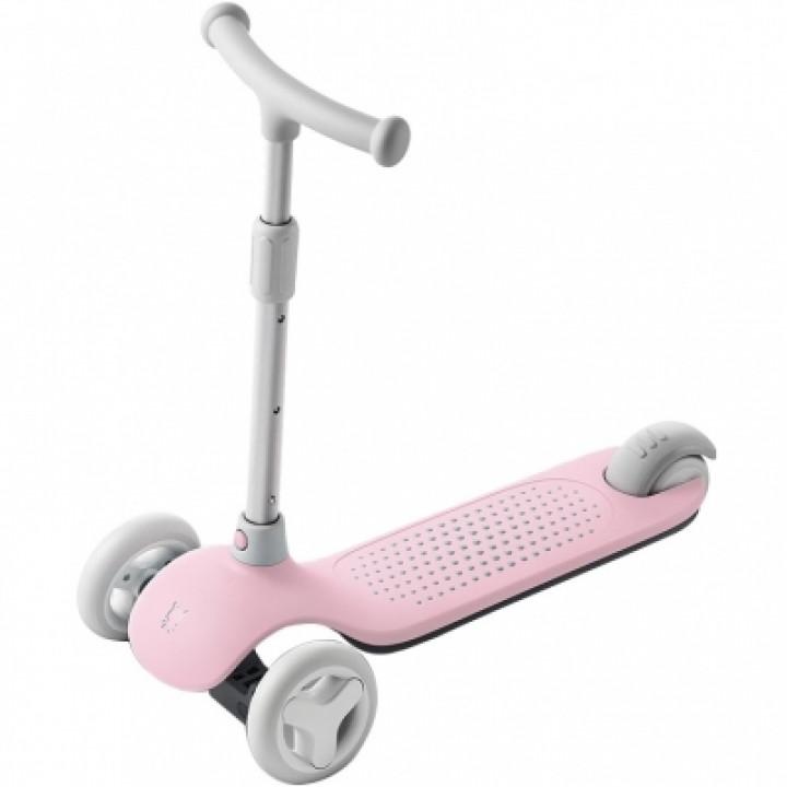 Детский самокат-кикборд Xiaomi Rice Rabbit Scooter pink