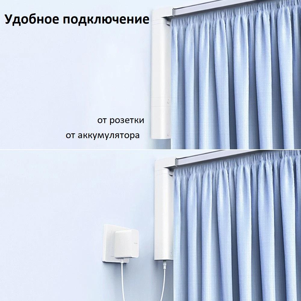 Легкое открытие штор одной кнопкой Специальный беспроводной выключатель можно разместить в любом удобном месте. Открыть шторы можно всего одним нажатием, так что Вы сможете полностью насладиться заслуженным отдыхом.