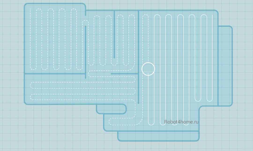 Робот-пылесос Xiaomi Mijia Robot Vacuum Cleaner G1 robot4home.ru