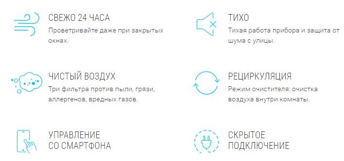 Вентиляционная установка TION 3S Special robot4home.ru