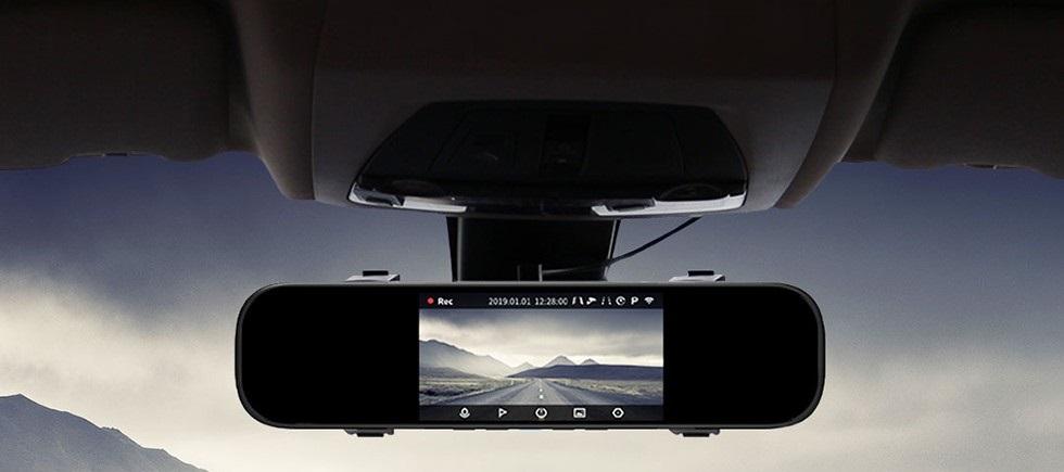 Умное зеркало видеорегистратор Xiaomi 70mai Rearview Mirror Dash Cam (Midrive D04) robot4home.r