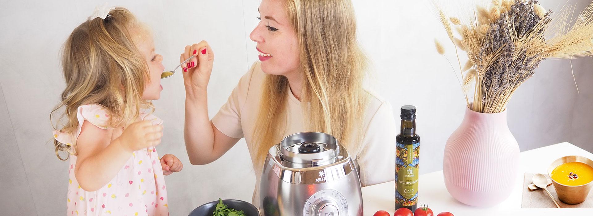 Режим приготовления супа в блендере AirFree R9