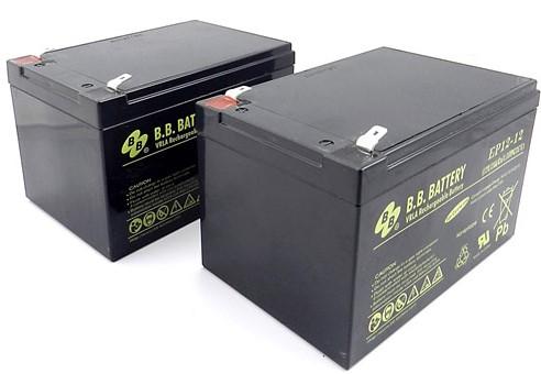 Комплект из двух аккумуляторов robomow для City110/100 и моделей RM (12 Аh) robot4home.ru