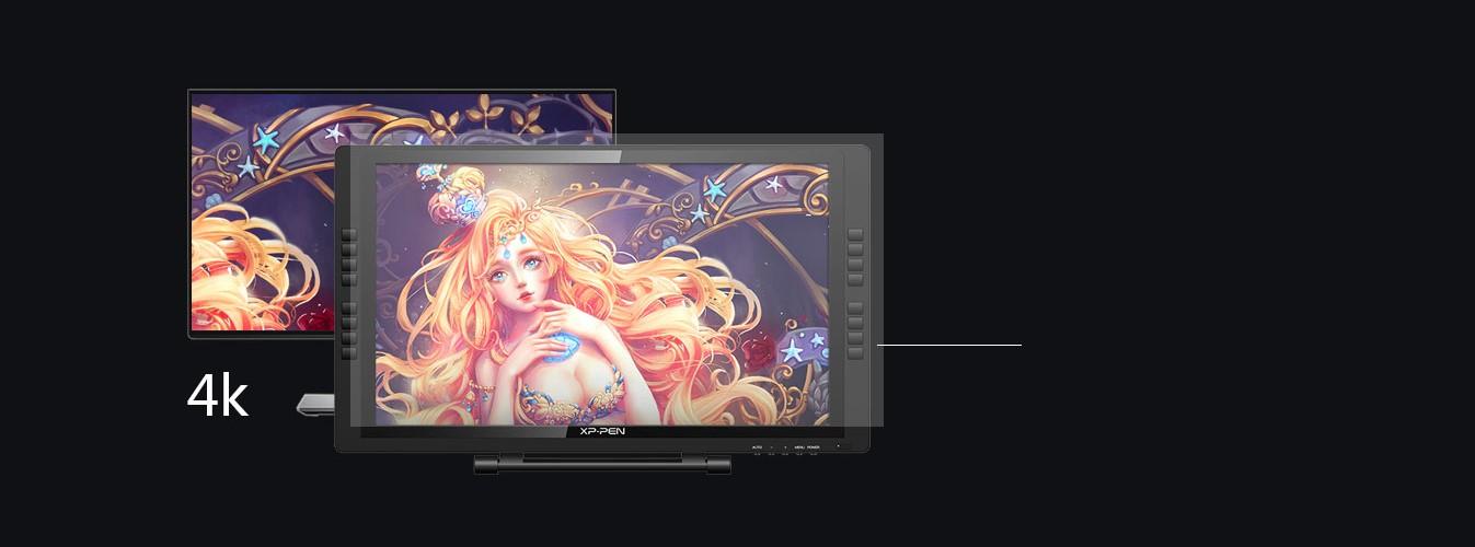 Интерактивный дисплей XP-PEN Artist 22E Pro robot4home.ru