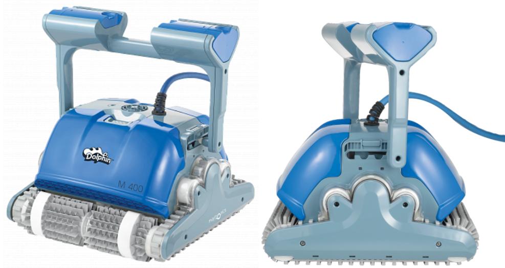 Робот-пылесос для чистки бассейна Dolphin M400 robot4home.ru