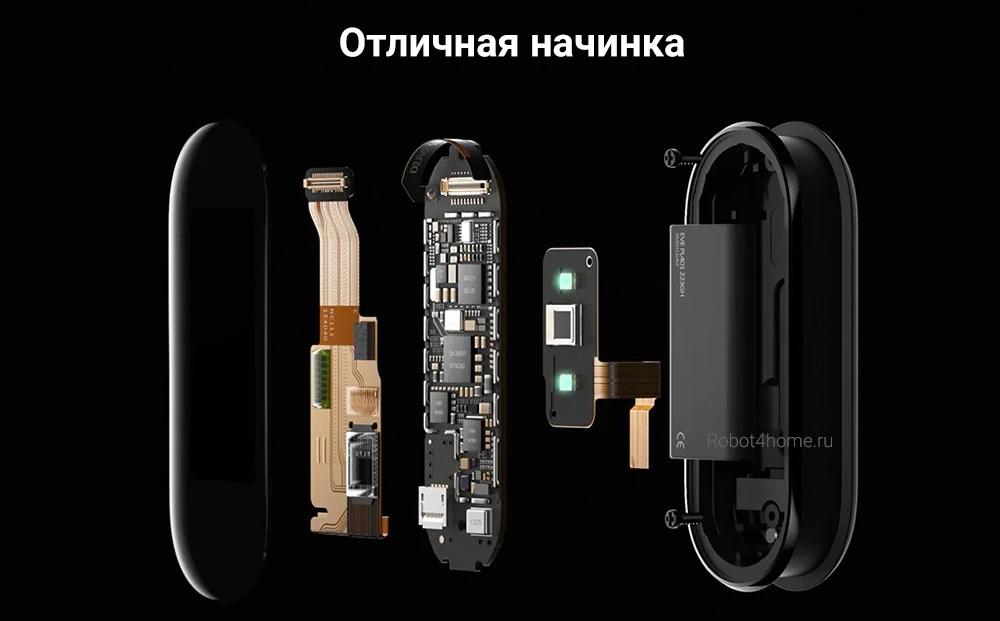 Фитнес браслет Xiaomi Mi Smart Band 5 с NFCописание, фото, видео, гарантия, технические характеристики, инструкция, комплектация, отзывы robot4home.ru