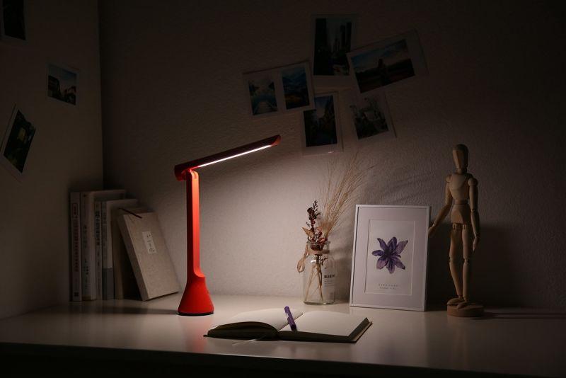Беспроводная складывающаяся настольная лампа Yeelight Rechargeable Folding Desk Lamp (YLTD11YL) robot4home.ru