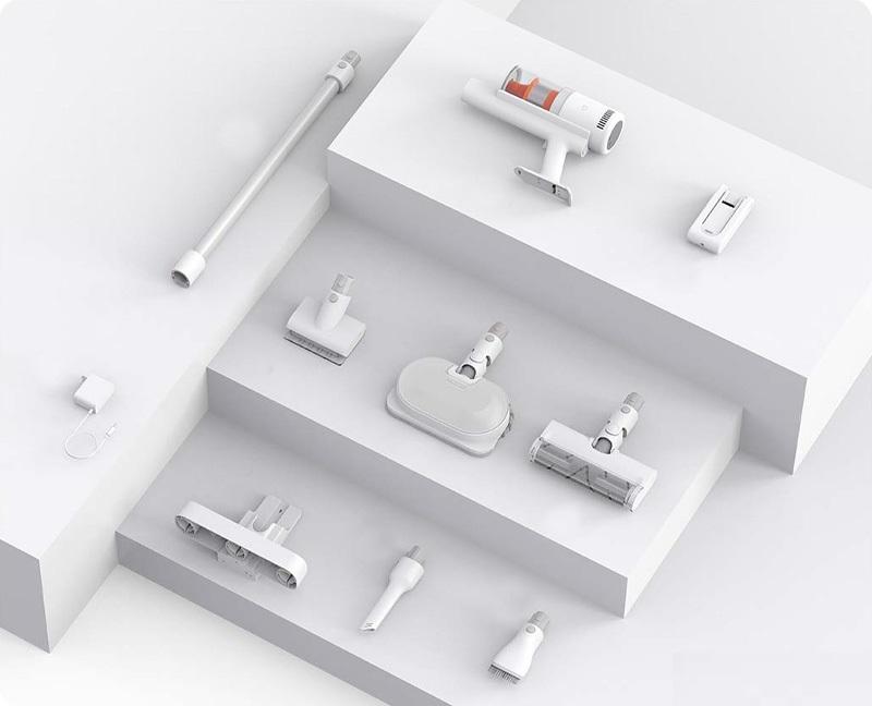 Беспроводной пылесос Xiaomi Mijia Wireless Vacuum Cleaner K10 Pro robot4home.ru