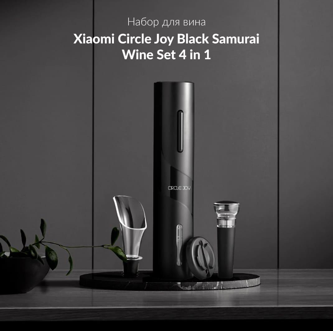 Набор аксессуаров Xiaomi Circle Joy 4 in 1 (CJ-TZ07), черный robot4home.ru