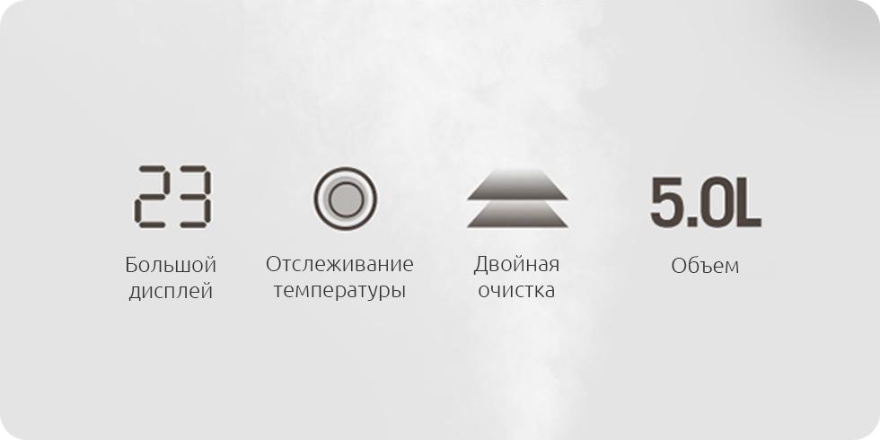 Увлажнитель воздуха Xiaomi DEM-F600 robot4home.ru