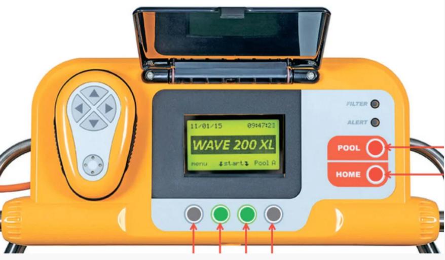 Робот пылесос для общественного бассейна Dolphin Wave 200 robot4home.ru