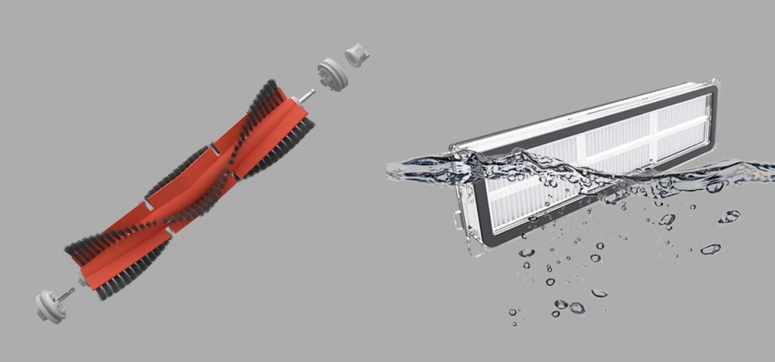 Робот пылесос Xiaomi Dreame F9 robot4home.ru