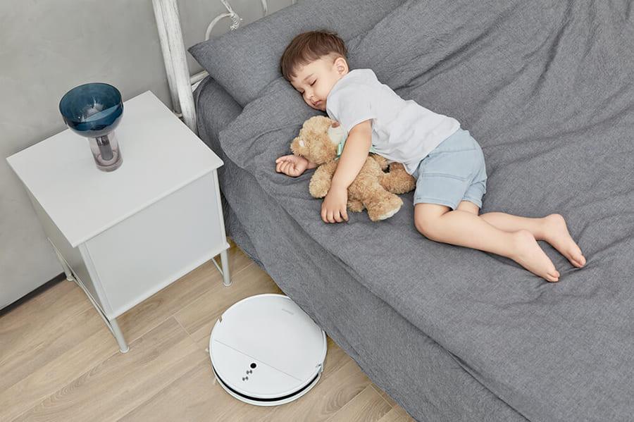 Робот-пылесос Xiaomi Dreame F9 (белый) robot4home.ru