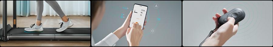Электрическая беговая дорожка Xiaomi WalkingPad R1 Pro (Русская версия) robot4home.ru