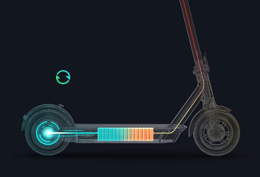 Электросамокат Ninebot KickScooter Max G30 robot4home.ru