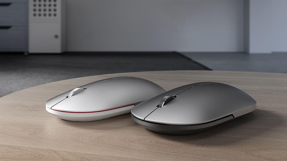 Беспроводная мышь Xiaomi Mi Elegant Mouse Metallic Edition (XMWS001TM) black robot4home.ru