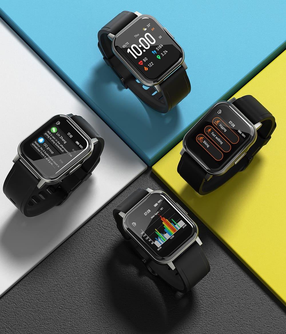 Смарт-часы Xiaomi Haylou Smart Watch 2 LS02 Black (Черный) (Global Version) robot4home.ru
