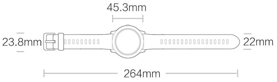 Смарт-часы Xiaomi Haylou Solar LS05 Black (Черный) (Global Version) robot4home.ru