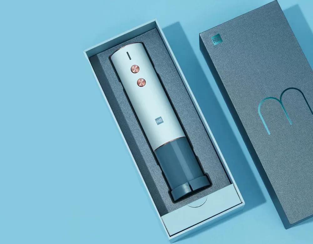 Штопор Xiaomi Huo Hou Electric Wine Opener (синий) (HU0120) robot4home.ru