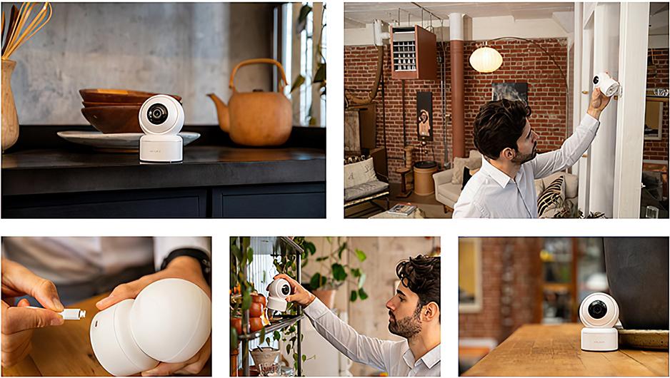 Поворотная IP камера Xiaomi IMILAB Home Security Camera С20 (CMSXJ36A) белый robot4home.ru