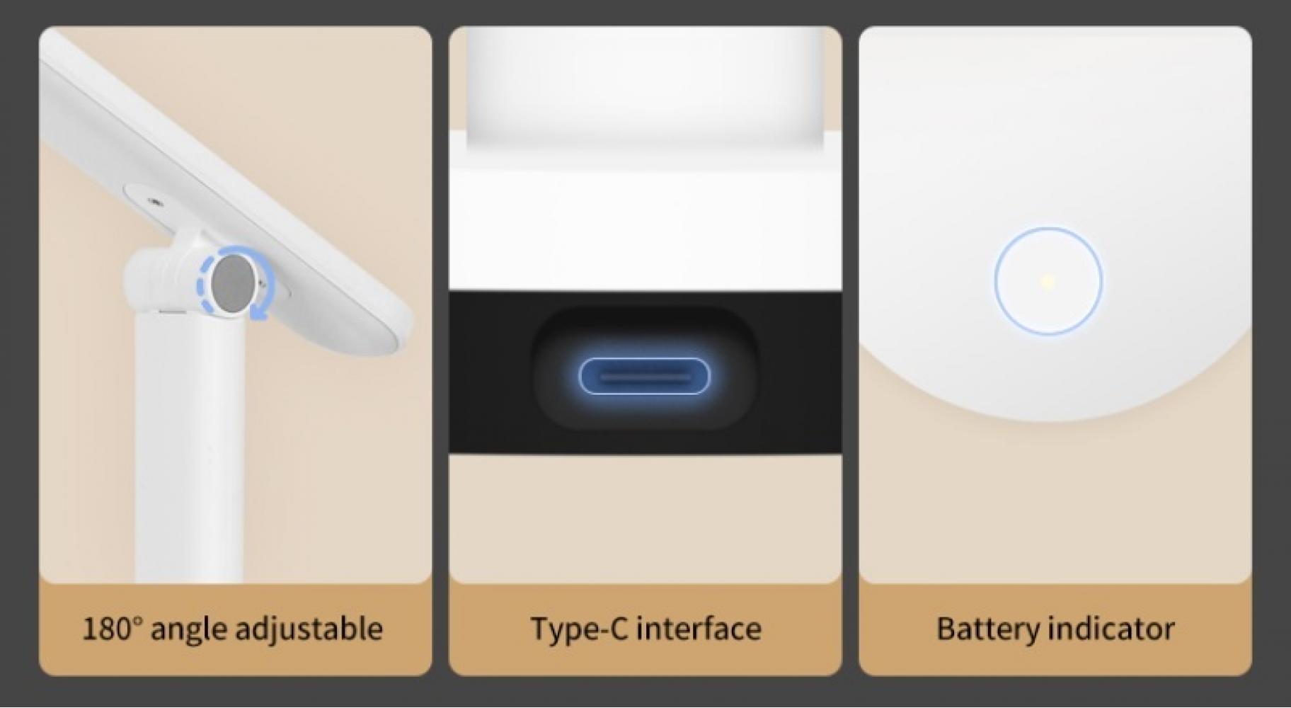 Настольная лампа Xiaomi Yeelight Folding Desk Lamp Z1 Pro