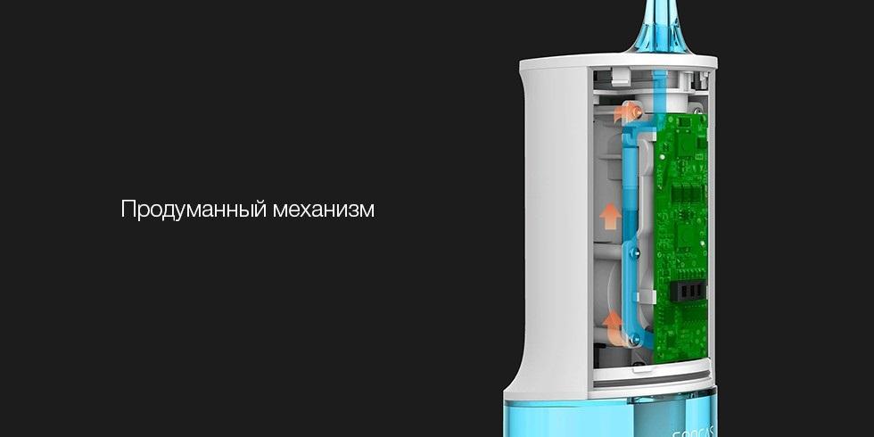 Ирригатор Xiaomi Soocas W3 (4 насадки) robot4home.ru