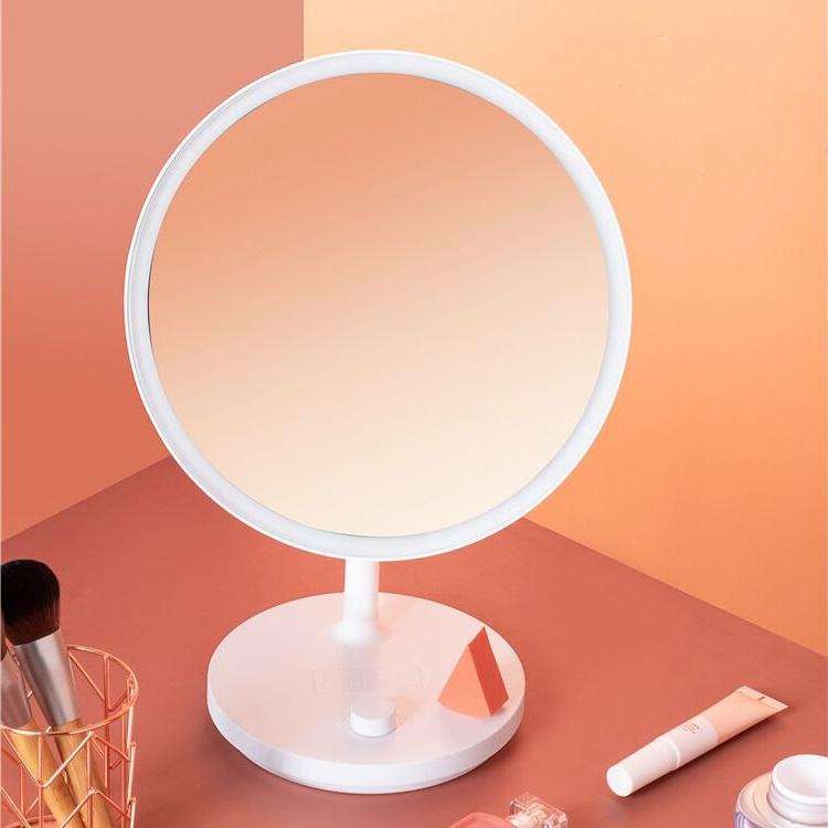 Зеркало с LED-подсветкой и часами Xiaomi Jordan Judy (NV535) robot4home.ru