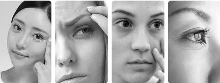 Массажер для кожи вокруг глаз Xiaomi Wellskins lon Vibration Warm Eye Instrument (WX-MY01) robot4home.ru
