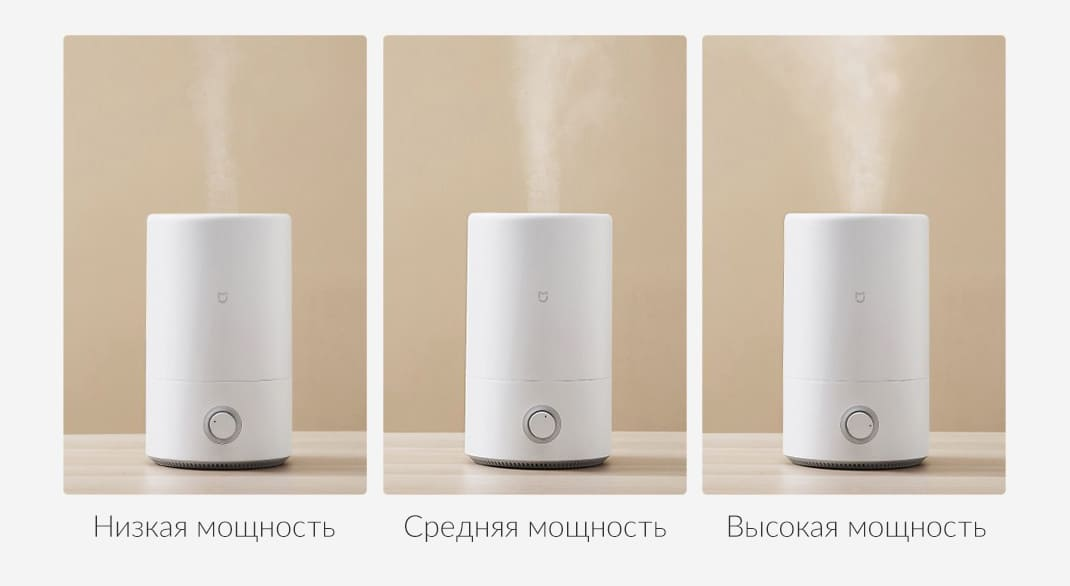 Увлажнитель воздуха Xiaomi Mijia Air Humidifier (4 л, белый) (MJJSQ02LX) robot4home.ru