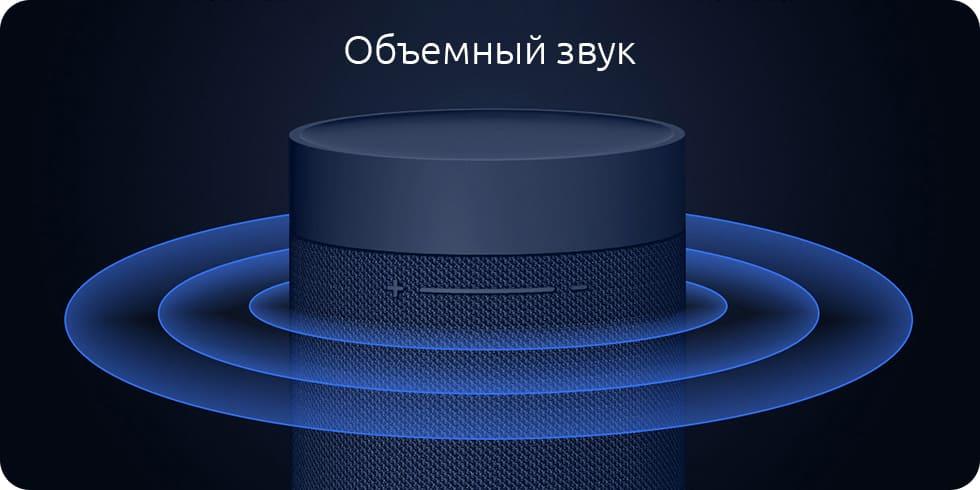 Портативная колонка Xiaomi Mi Outdoor Bluetooth Speaker XMYX02JY (черный) robot4home.ru