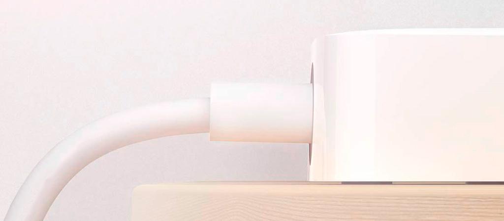 Удлинитель Xiaomi Mi Power Strip 5 (XMCXB03QM), белый, 5 розеток, 2 м, 10А / 2500 Вт robot4home.ru