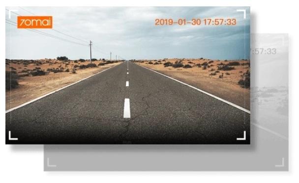 Умное зеркало видеорегистратор Xiaomi 70mai Rearview Dash Cam Wide Midrive D07