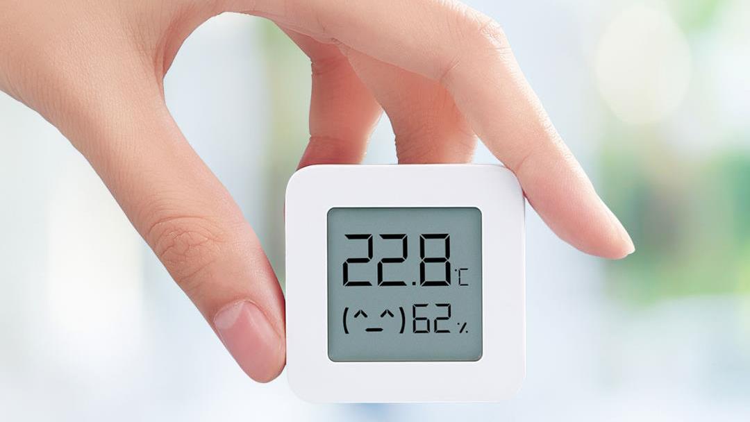 Цифровая бытовая метеостанция Xiaomi Mijia Bluetooth Hygrothermograph 2 robot4home.ru