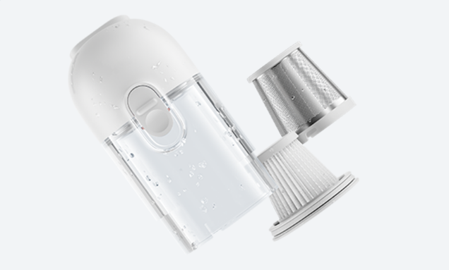 Пылесос Xiaomi Vacuum Cleaner mini, белый robot4home.ru