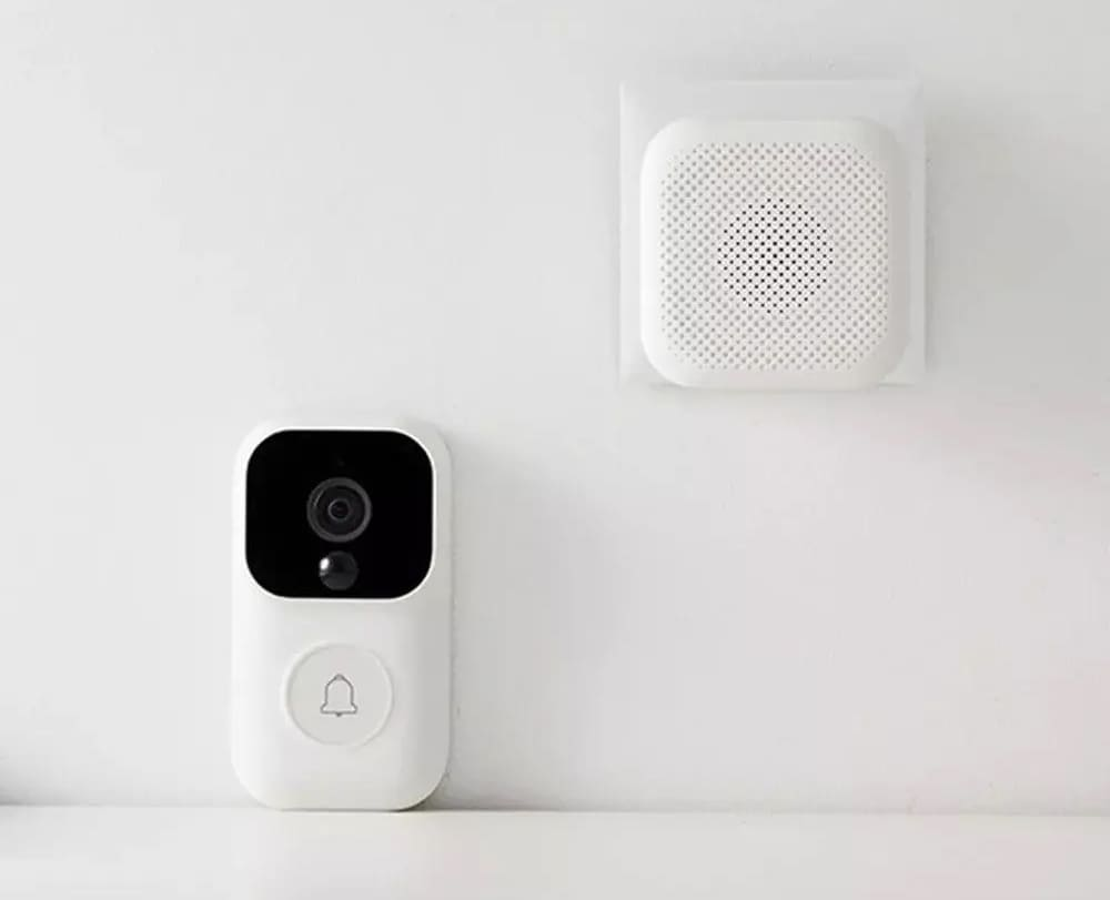Дверной звонок Xiaomi Mijia Video Doorbell Enhanced Version FJ04MLWJ robot4home.ru