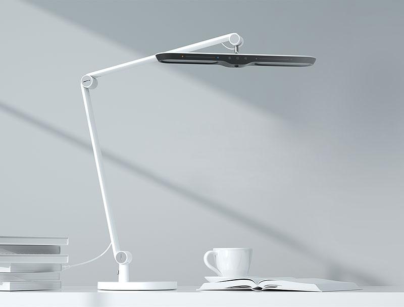 Настольная лампа на струбцине светодиодная Yeelight Yeelight LED Vision Desk Lamp V1 Pro (YLTD13YL), 12 Вт robot4home.ru