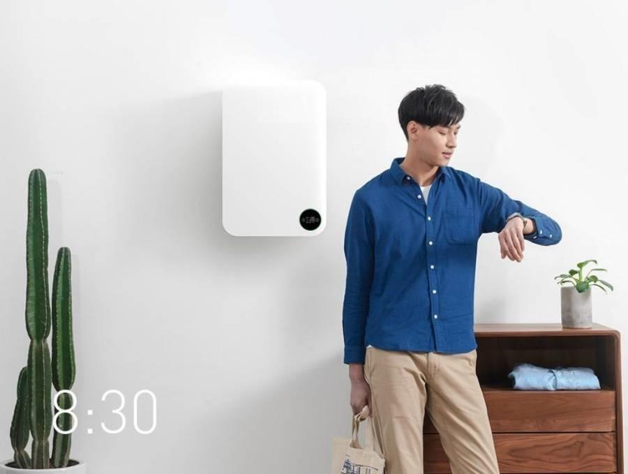 Настенный очиститель воздуха Xiaomi Fresh Air System Wall Mounted (белый) robot4home.ru